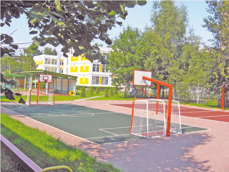 спортивная площадка в доу на улице фото такой выбор